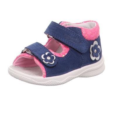 Babyschuhe - superfit Girls Sandale Polly blau rosa (mittel) – Gr.Babymode (6 – 24 Monate) – Mädchen - Onlineshop Babymarkt