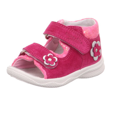Babyschuhe - superfit Girls Sandale Polly rosa rosa (mittel) – rosa pink – Gr.Babymode (6 – 24 Monate) – Mädchen - Onlineshop Babymarkt