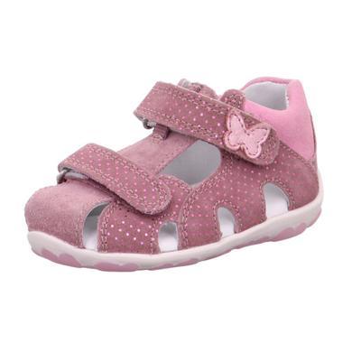 Babyschuhe - superfit Girls Sandale Fanni lila rosa (mittel) – rosa pink – Gr.Babymode (6 – 24 Monate) – Mädchen - Onlineshop Babymarkt