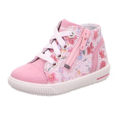 Babyschuhe - superfit Girls Halbschuhe Moppy rosa (mittel) – rosa pink – Gr.Babymode (6 – 24 Monate) – Mädchen - Onlineshop Babymarkt