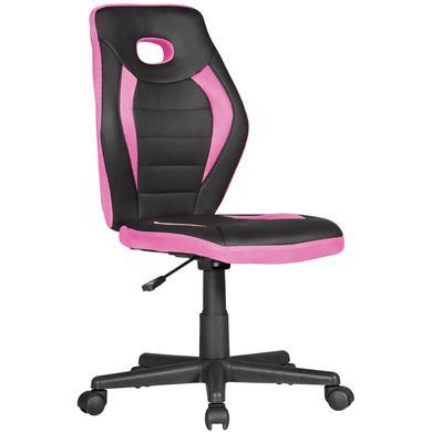 Kindertische - Amstyle ® Kinderschreibtischstuhl Luan, schwarz pink rosa pink  - Onlineshop Babymarkt