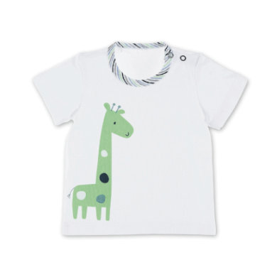 Babyoberteile - Sterntaler Kurzarm–Shirt Giraffe weiss - Onlineshop Babymarkt