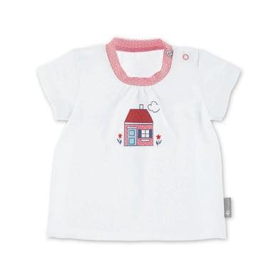 Babyoberteile - Sterntaler Kurzarm–Shirt Haus weiß - Onlineshop Babymarkt
