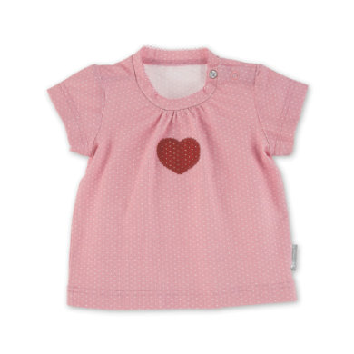Babyoberteile - Sterntaler Kurzarm–Shirt Herz hellrot - Onlineshop Babymarkt