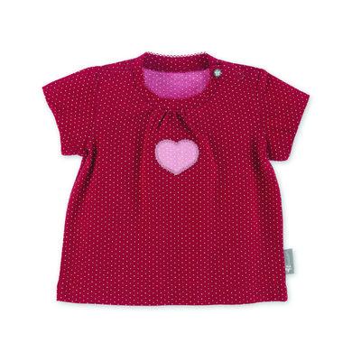 Babyoberteile - Sterntaler Kurzarm–Shirt Herz rot - Onlineshop Babymarkt