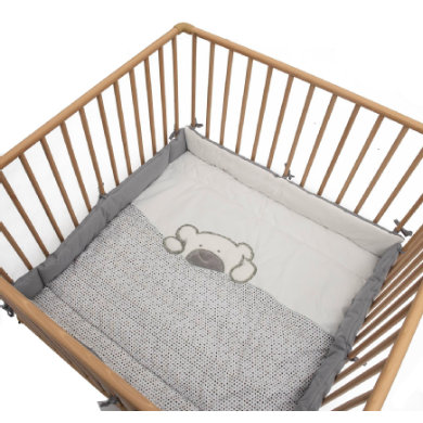 Be Bes Collection playpen inlay Big Willi šedá