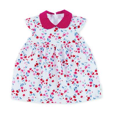 Minigirlroeckekleider - Sterntaler Baby–Kleid weiß stars - Onlineshop Babymarkt