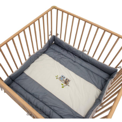 Be Bes Collection playpen inlay sovy blue