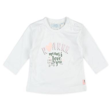 Babyoberteile - Feetje Longsleeve Roarrr Wild Thing weiß - Onlineshop Babymarkt