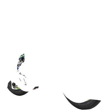 dětské kolo bikestar Alu Hardtail Mountain bike 20 , modrá / zelená
