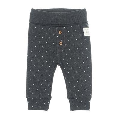 Babyhosen - Feetje Hose AOP Mini Person anthrazit–melange - Onlineshop Babymarkt
