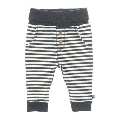 Babyhosen - Feetje Hose Ringel Mini Person anthrazit–melange - Onlineshop Babymarkt