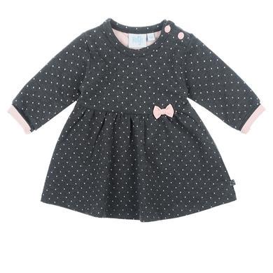 Minigirlroeckekleider - Feetje Kleid Dots anthrazit–melange - Onlineshop Babymarkt