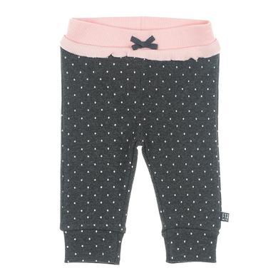 Babyhosen - Feetje Hose AOP Dots anthrazit–melange - Onlineshop Babymarkt