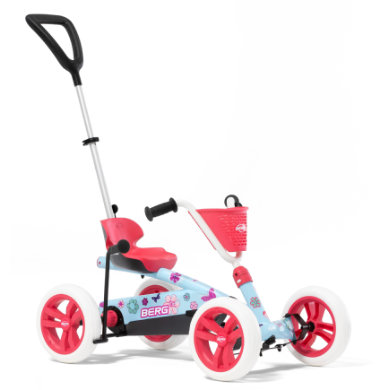 Tretfahrzeuge - BERG Pedal Go Kart BERG Buzzy Bloom 2 in 1 - Onlineshop