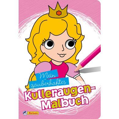Nelson Mein zauberhaftes Kulleraugen-Malbuch