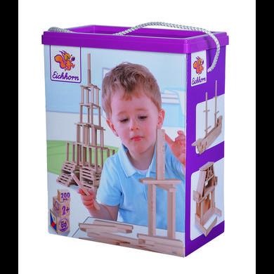 Eichhorn Jeu de construction enfant bois 200 pièces