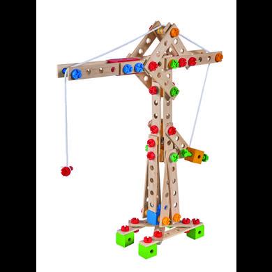 Eichhorn Jeu de construction enfant grue, bois 170 pièces