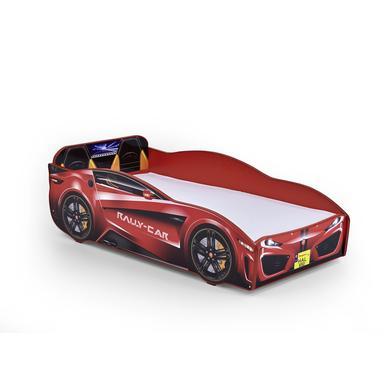 Kinderbetten - Relita Autobett Rallycar rot  - Onlineshop Babymarkt