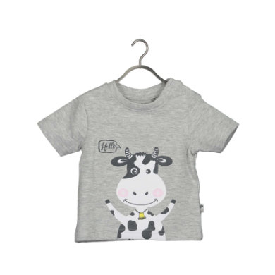 BLUE SEVEN T-Shirt Milk medium grey