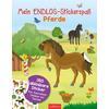 arsEdition Mein Endlos-Stickerspaß - Pferde