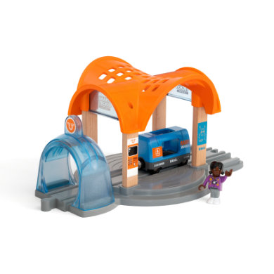 BRIO WORLD Smart Tech Action Tunnel Station