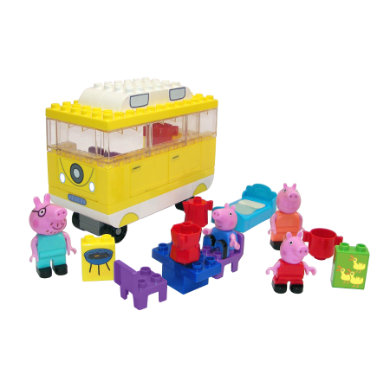 BIG Play BIG Bloxx Peppa Pig - karavan