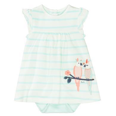 Minigirlroeckekleider - STACCATO Kleid mit Body soft mint gestreift - Onlineshop Babymarkt