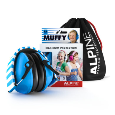 Alpin e Ochrana sluchu Muffy, modrá