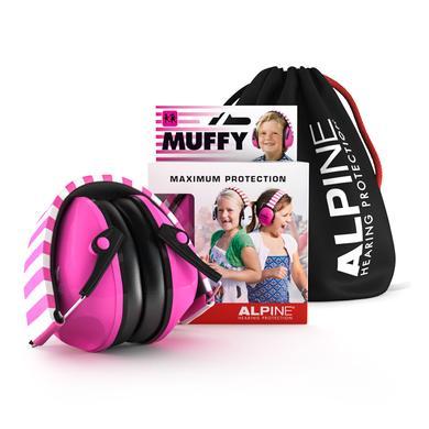 Alpin e Ochrana sluchu Muffy, růžová