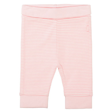 STACCATO Růžové pruhované kalhoty