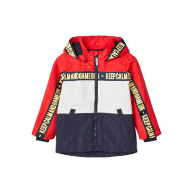 pojmenujte to Boys Jacket Nmmmax high risk red