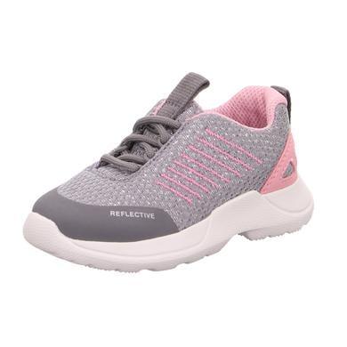superfit nízká bota Rush světle šedá / růžová