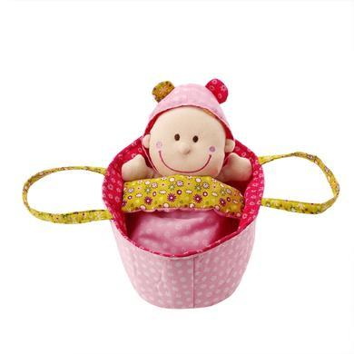 Lilliputiens Babypuppe Chloé mit Tragetasche