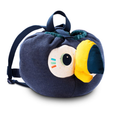 Lilliputiens Backpack soft - Pablo