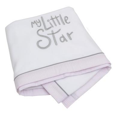 Be Be 's Collection Deken Fleece My little Star roze