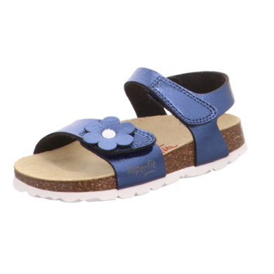 superfit Footbed sand ale blue