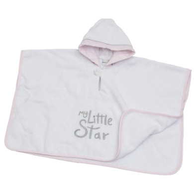 Image of Be Be 's Collection Badeponcho mit Kapuze My little Star rosa
