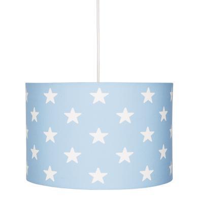 Kinderzimmerlampen - LIVONE Hängelampe Happy Style for Kids STARS blau weiss  - Onlineshop Babymarkt
