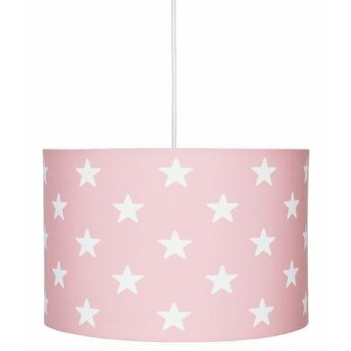 Kinderzimmerlampen - LIVONE Hängelampe Happy Style for Kids STARS rosa weiss  - Onlineshop Babymarkt