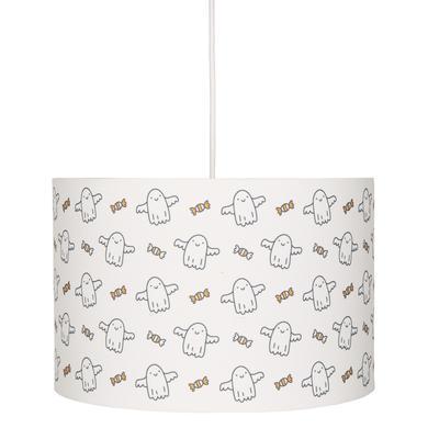 Kinderzimmerlampen - LIVONE Hängelampe Happy Style for Kids BABYGHOST weiß schwarz  - Onlineshop Babymarkt