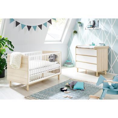 Babyzimmer - Pinolino Sparset Flow breit 2 teilig  - Onlineshop Babymarkt