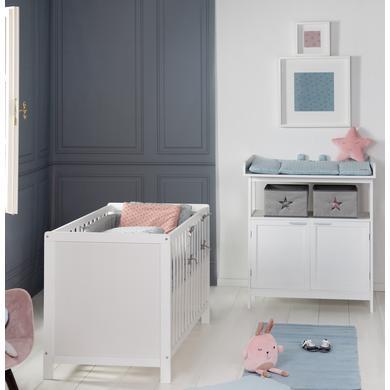 Babyzimmer - roba Sparset Hamburg weiß mit Türen  - Onlineshop Babymarkt