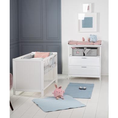 Babyzimmer - roba Sparset Hamburg weiß mit Schubladen  - Onlineshop Babymarkt
