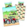 babybest® Bettwäsche Traktor GOTS 100x135 cm