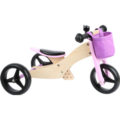 Laufrad - small foot® Laufrad Trike 2 in 1 Rosa - Onlineshop
