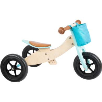 Laufrad - small foot® Laufrad Trike Maxi 2 in 1 Türkis - Onlineshop