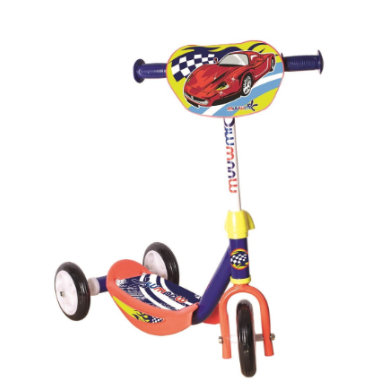 AUTHENTICKÉ SPORTY Kiddy scoot er Muuwmi racer modrá