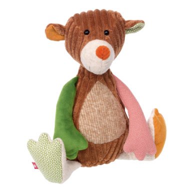 sigikid ® Cuddly toy bear - Patchwork Sweety