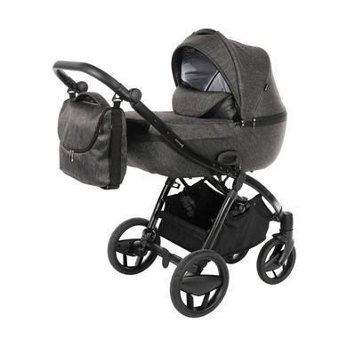 knorr-baby Combi kočárek Piquetto Uni Slate